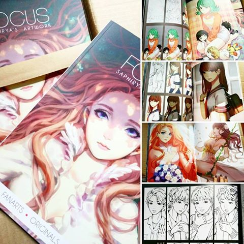 Reception des artbooks FOCUS et preview